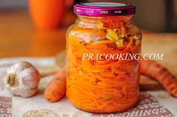 Морковь по-корейски в домашних условиях (рецепты быстрого приготовления)