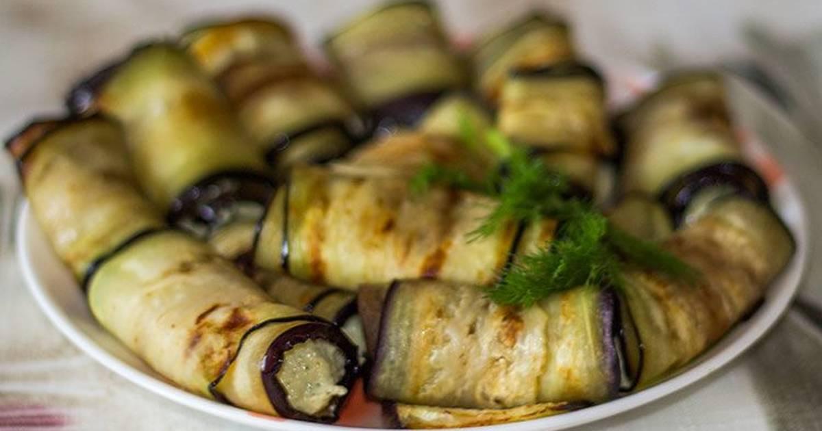 Рулетики из баклажанов с орехами: самые вкусные рецепты