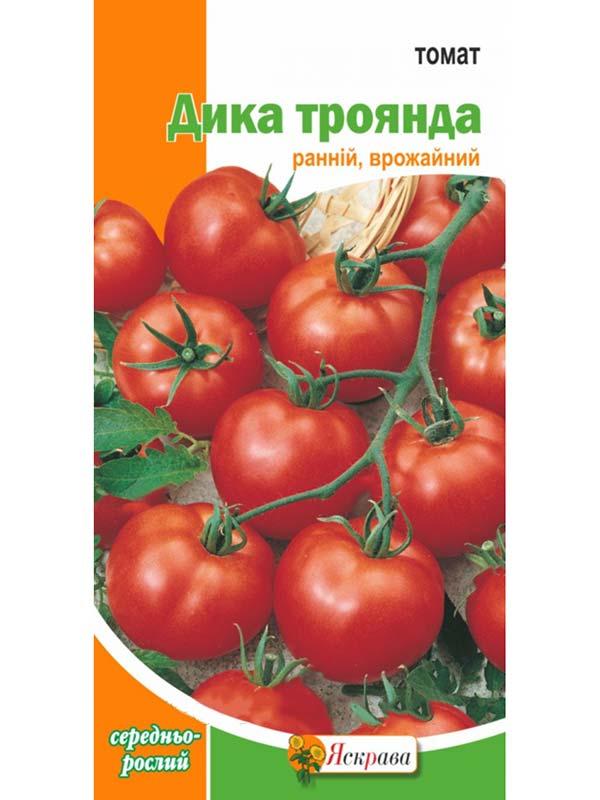 Томат дикая роза: урожайность, характеристика и описание сорта
