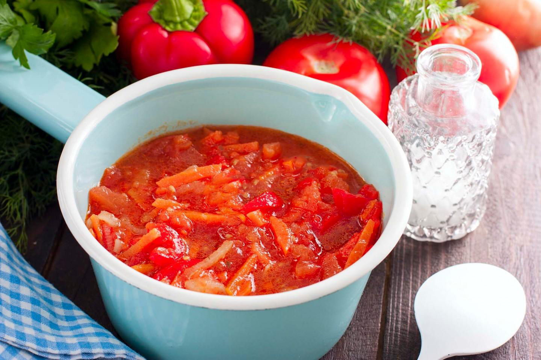 Рецепты лечо с морковью