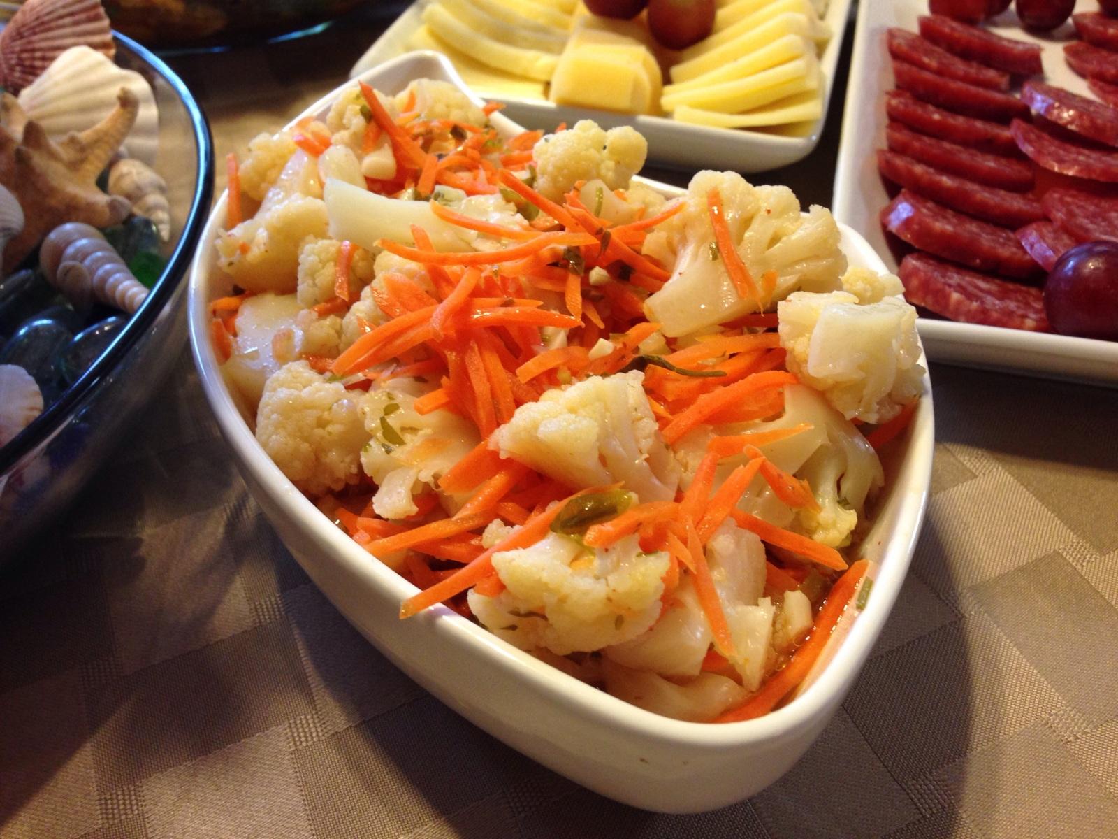 Рецепты быстрого приготовления маринованной цветной капусты по-корейски на зиму