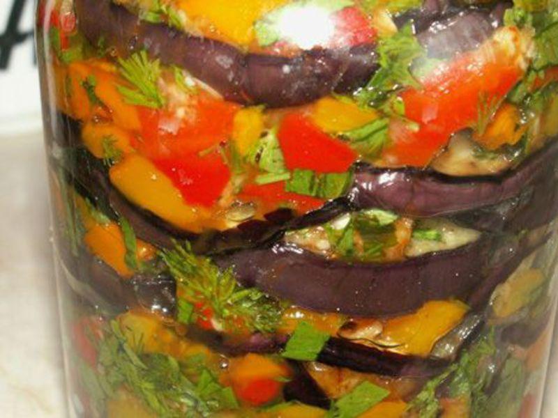 Салат «десятка» из баклажанов на зиму: 4 рецепта приготовления