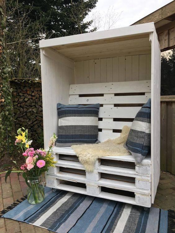 Садовая мебель из поддонов (43 фото): идеи для дачи, оригинальная дачная скамейка и другие функциональные вещи из деревянных паллет
