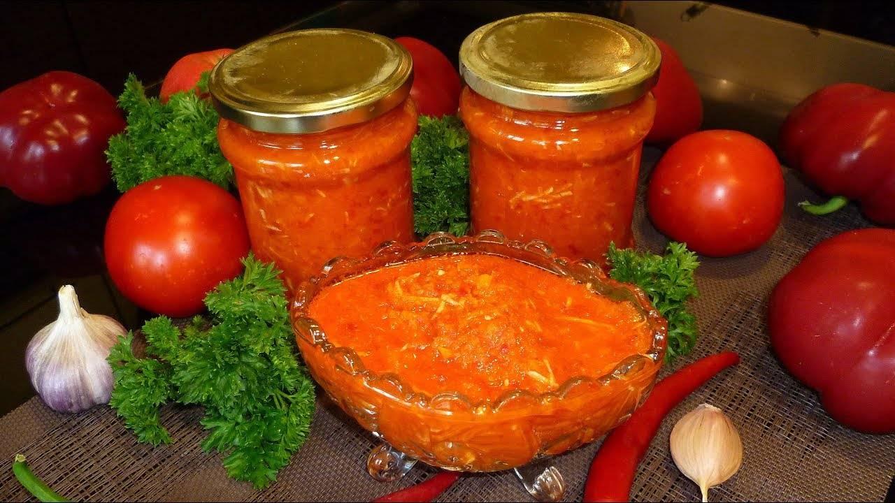 Аджика из зеленых помидор на зиму: рецепты «пальчики оближешь»