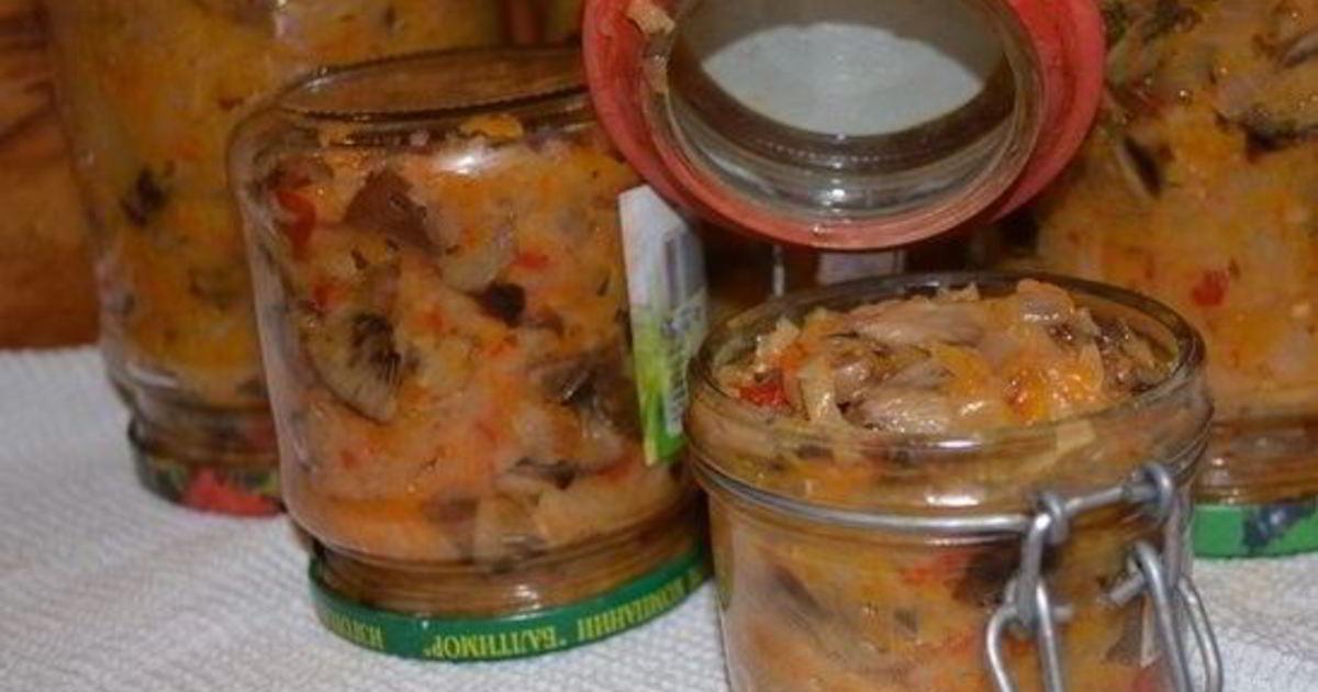 Солянка с грибами на зиму - рецепт с пошаговыми фото | меню недели