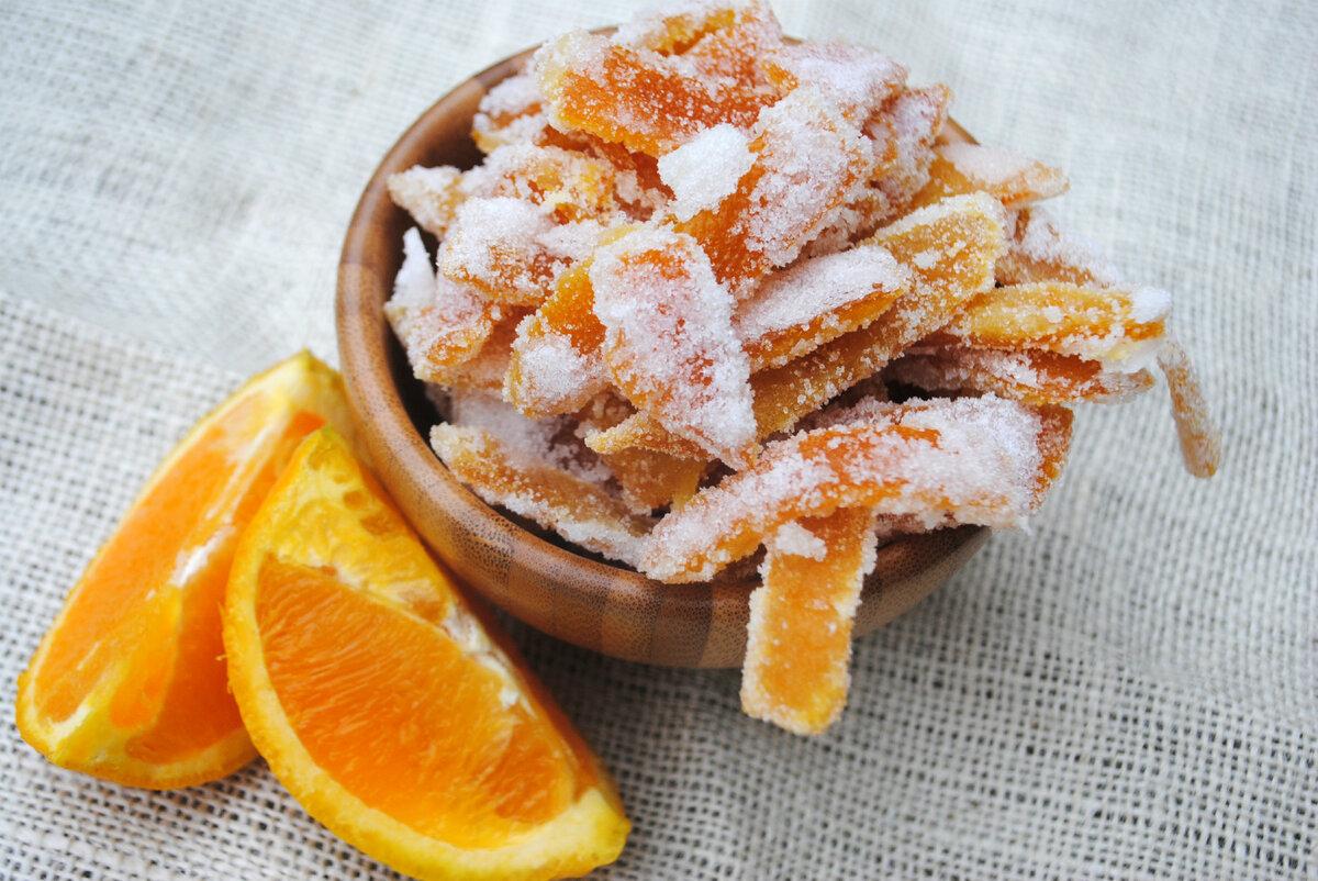 Цукаты из апельсиновых корок в домашних условиях, как приготовить, сделать