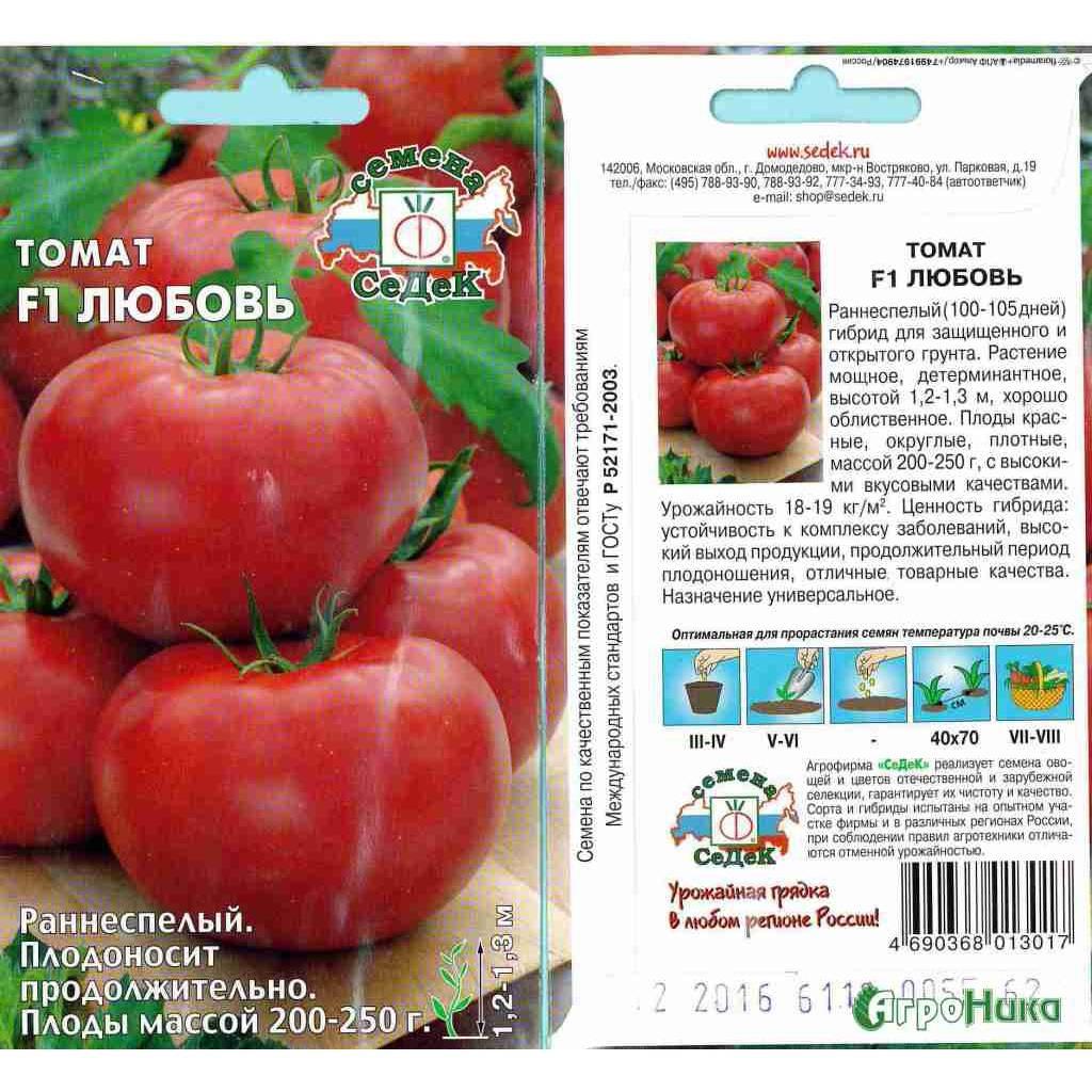 Описание томата Ранняя любовь: особенности выращивания и советы