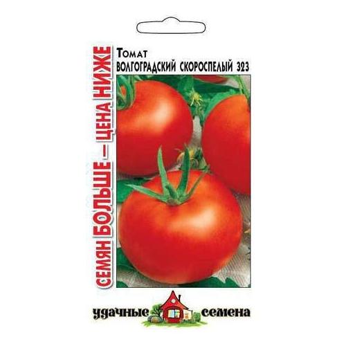 Характеристика и описание сорта томата волгоградский скороспелый 323