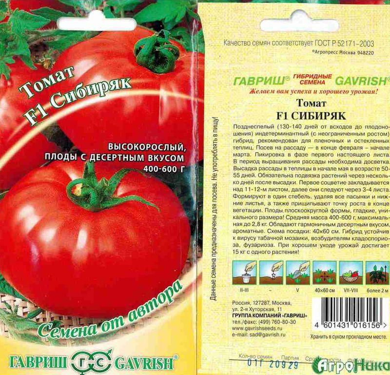 Лучшие сорта томатов для теплиц с описанием и фото