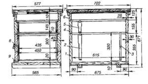 Как собственноручно изготовить улей-лежак на 24 рамки