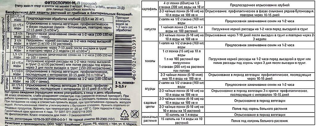 Фитоспорин для огурцов: инструкция по применению, как разводить, отзывы