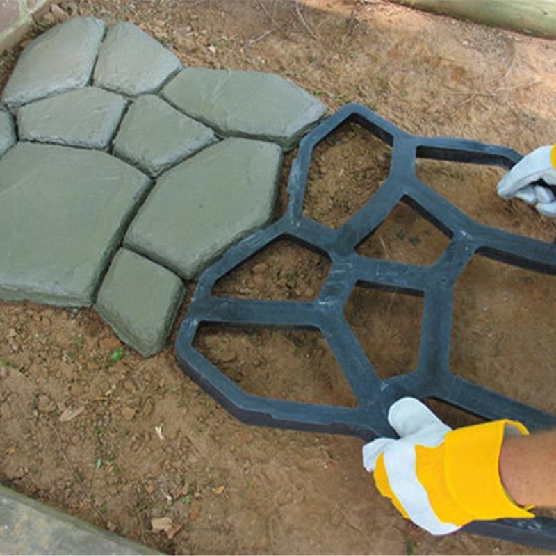 Садовые дорожки из бетона своими руками — пошаговая инструкция с фото