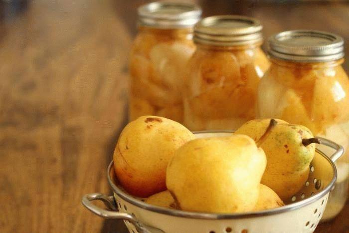 Маринованные груши на зиму без стерилизации: рецепты, видео