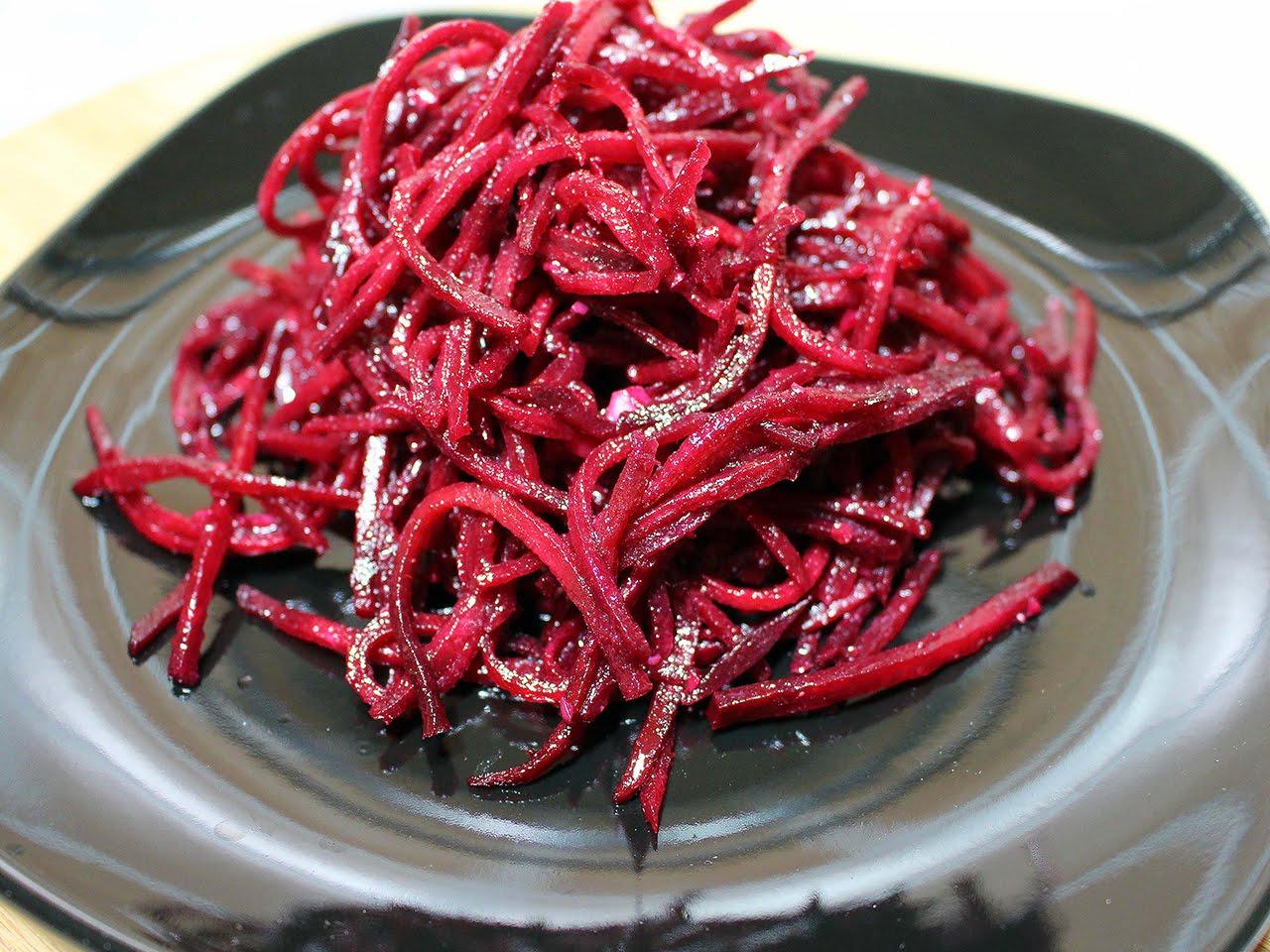 Самые вкусные рецепты свеклы по-корейски: топ-10