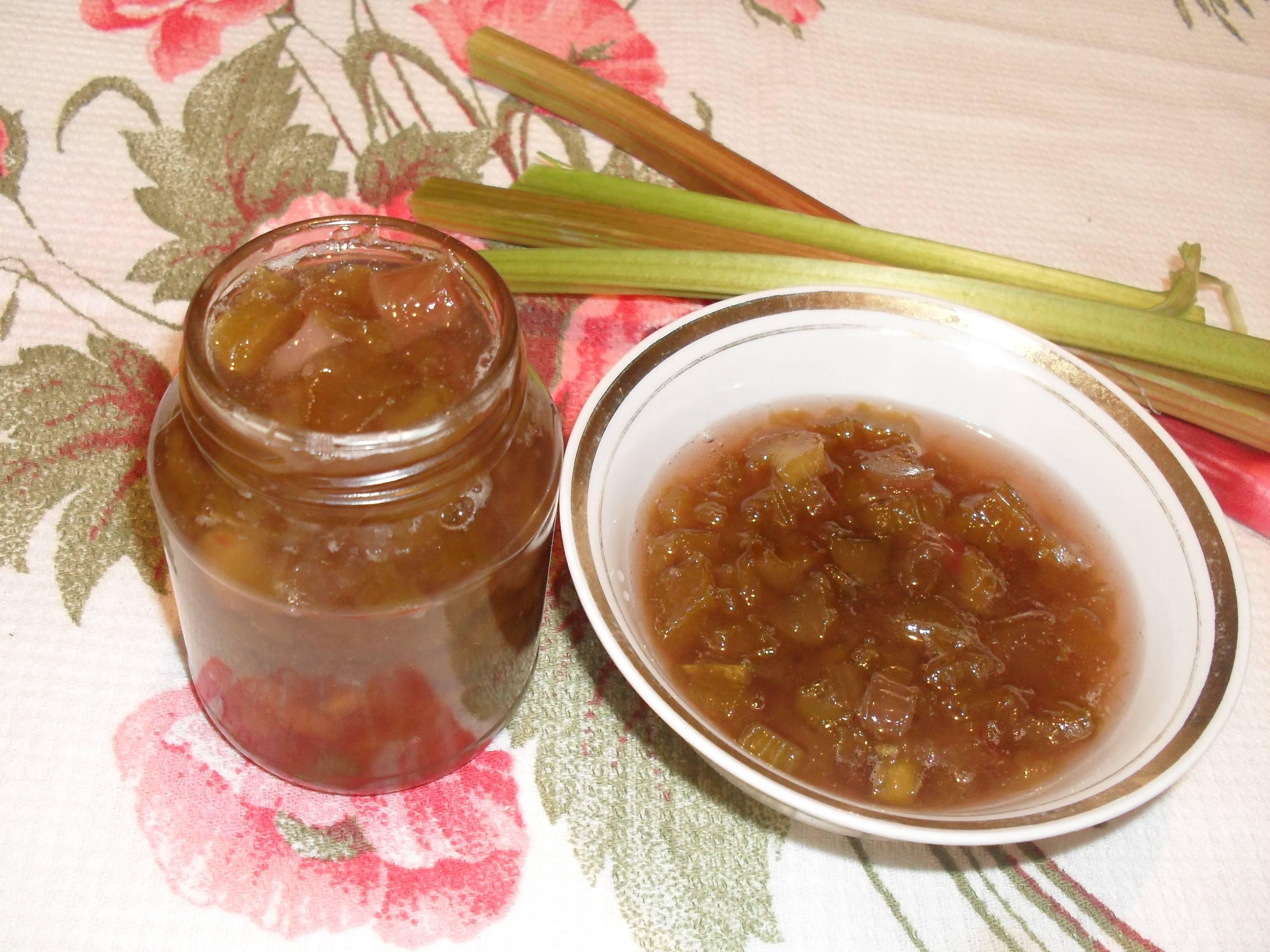 Варенье с апельсинами и ревенем на зиму рецепт с фото - 1000.menu
