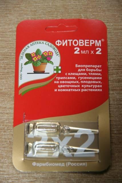 Фитоверм: подробная инструкция по применению для огурцов