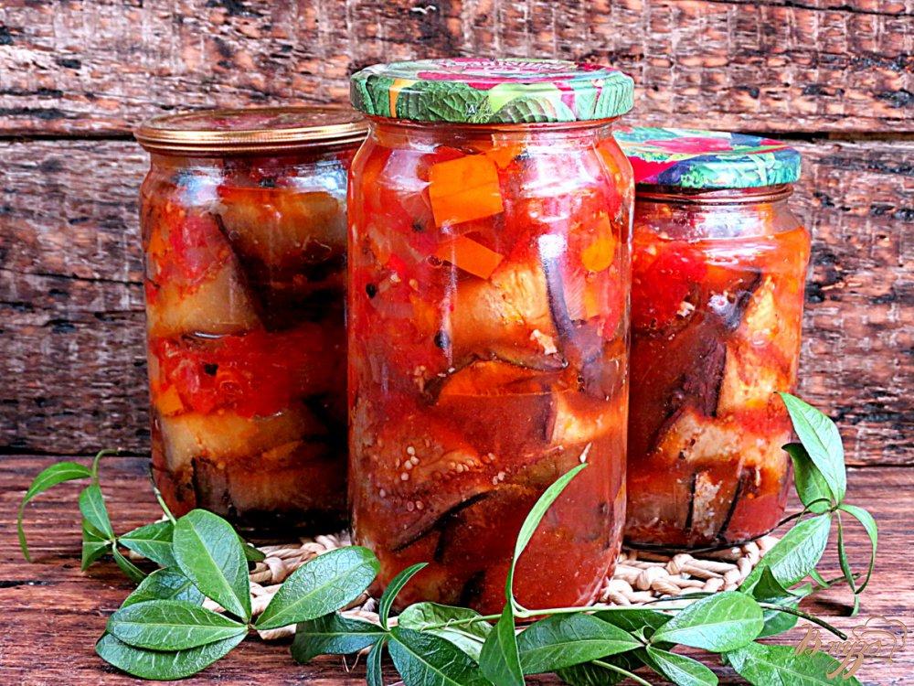 Обалденные баклажаны в томате - 6 лучших рецептов на зиму!
