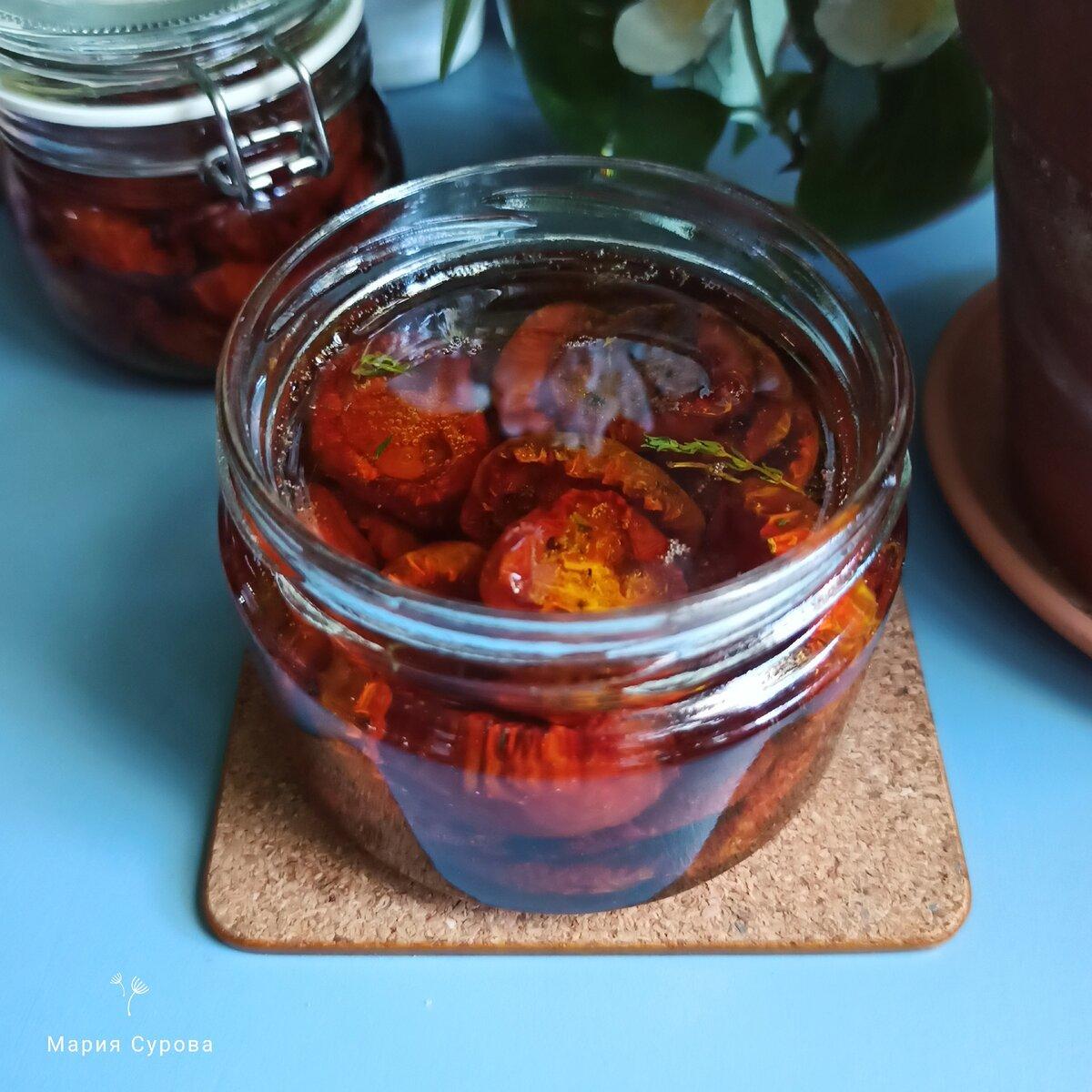 Как приготовить вяленые помидоры на зиму в домашних условиях?