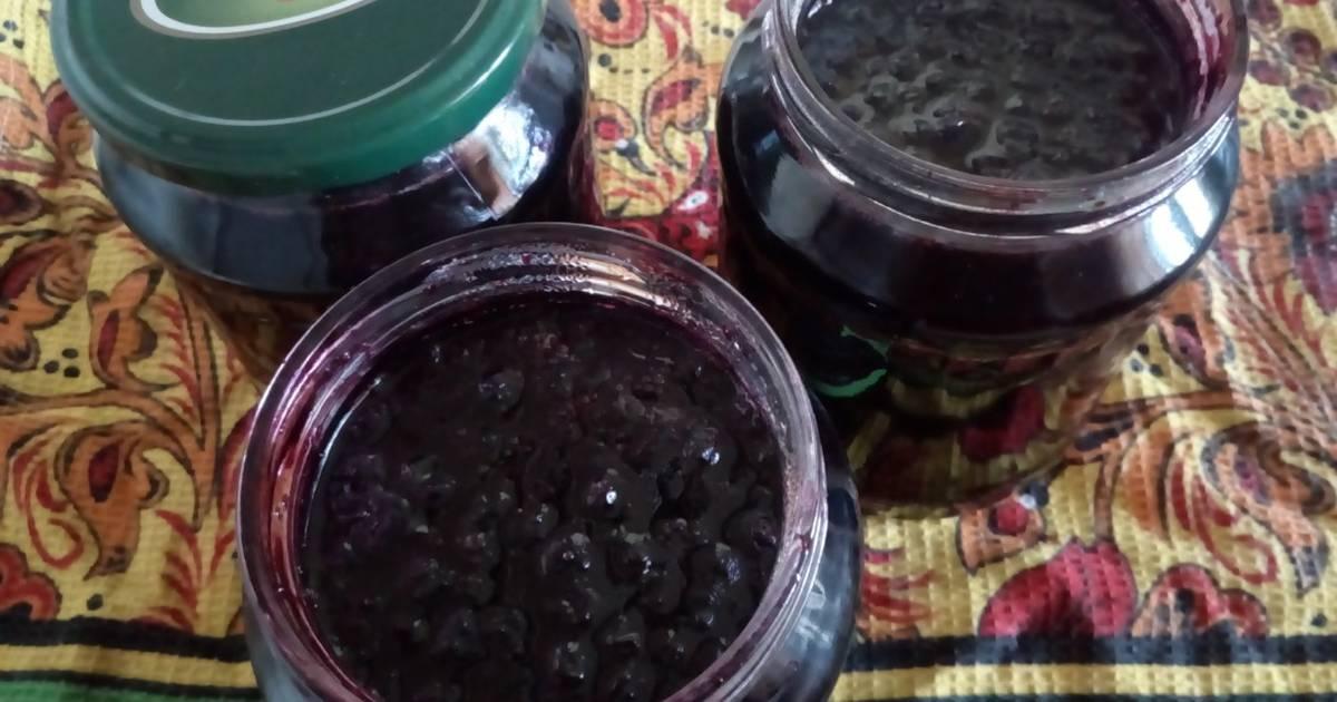 Варенье - пятиминутка из черники — пошаговый рецепт с фото