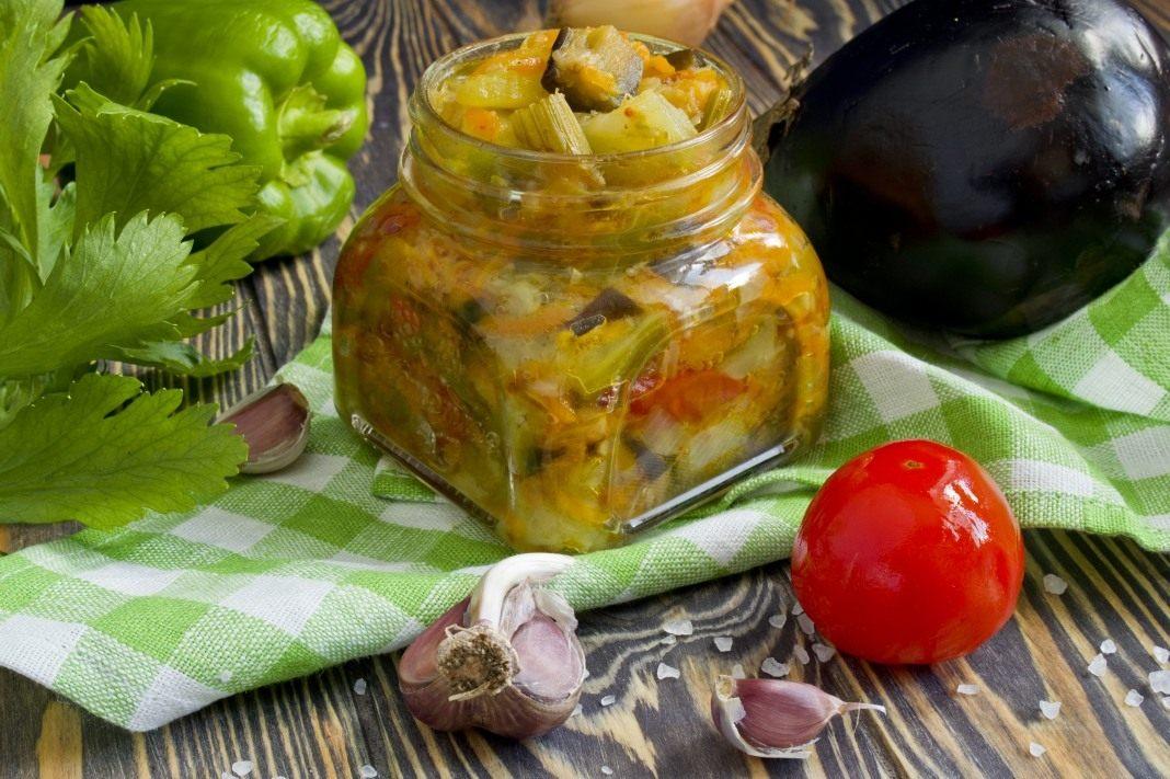 Пошаговый рецепт приготовления чеснока на зиму в масле