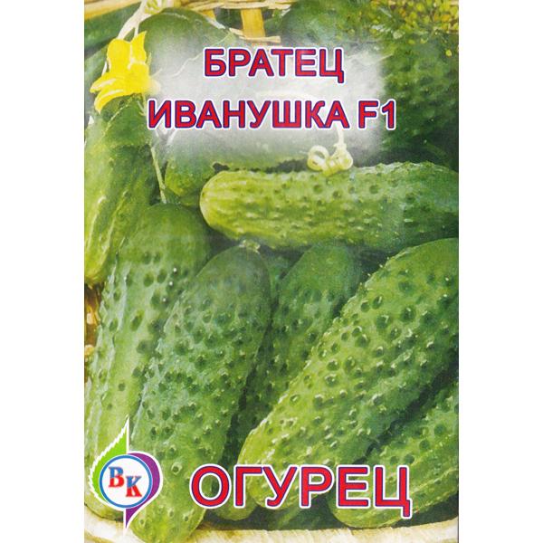 Описание огурцов Братец Иванушка f1, выращивание и уход