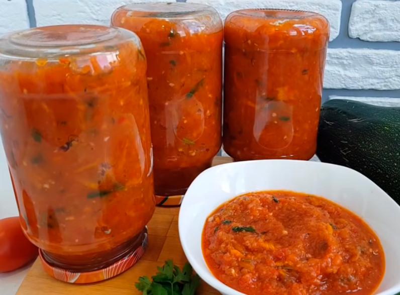 Кабачки в аджике на зиму по-тбилисски: 5 обалденных рецептов, от которых пальчики оближешь. бонус-рецепт хрустящих кабачков с аджикой