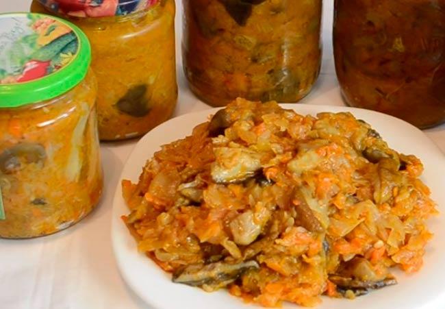 Солянка на зиму с грибами и капустой. рецепты пальчики оближешь