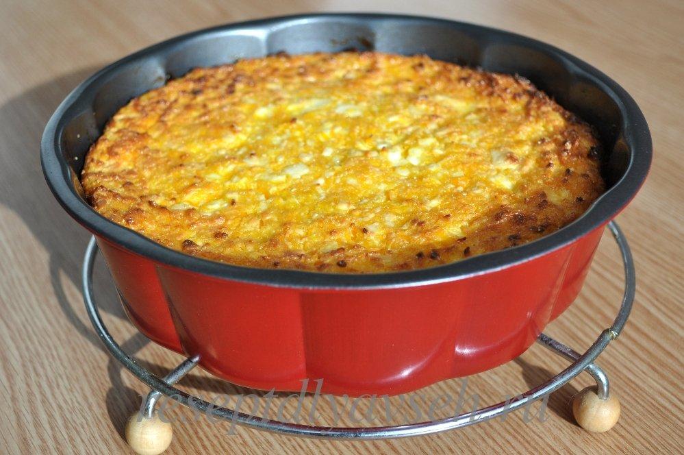 Как приготовить запеканку из тыквы с манкой:пошаговый рецепт с фото