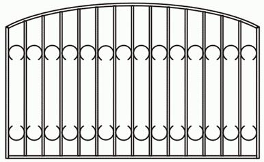 Купить сварной забор в щёлково. фото работ. цены на сварные заборы