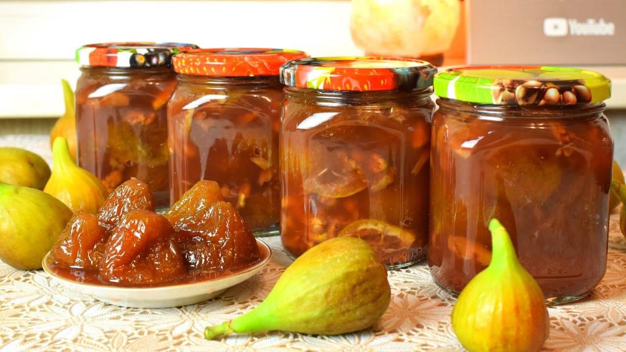 9 лучших рецептов заготовок из инжира на зиму в домашних условиях