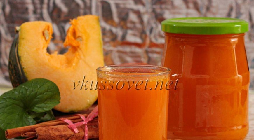 Тыквенно-морковный сок на зиму: рецепт с пошаговой инструкцией, условия хранения