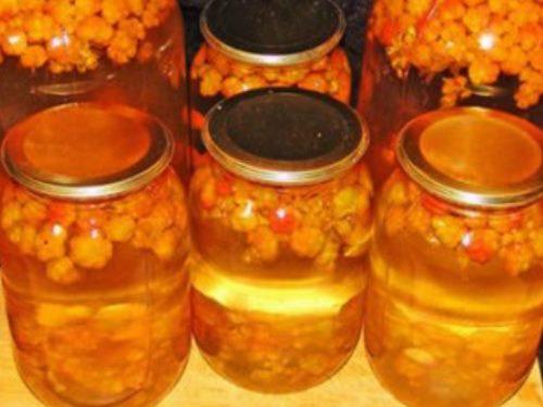 Варенье из морошки: рецепты на зиму с фото