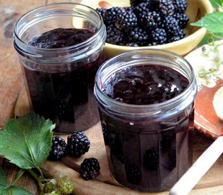 Варенье из ежевики с целыми ягодами густое (4 рецепта)