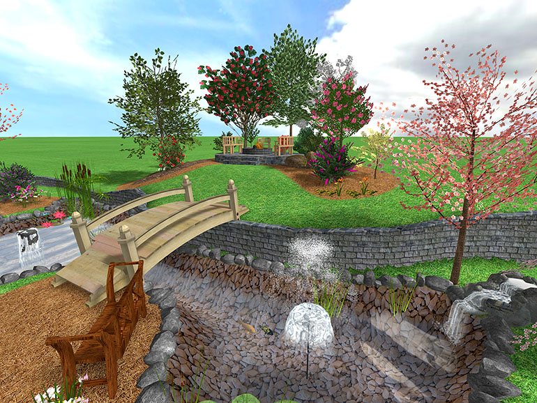 Создаем ландшафт с realtime landscaping architect
