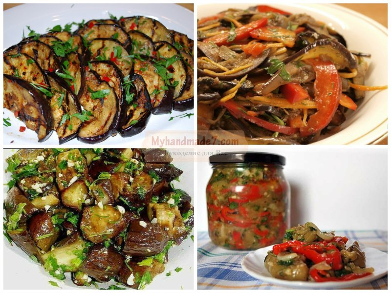 Баклажаны маринованные с чесноком и зеленью рецепт с фото пошагово и видео - 1000.menu