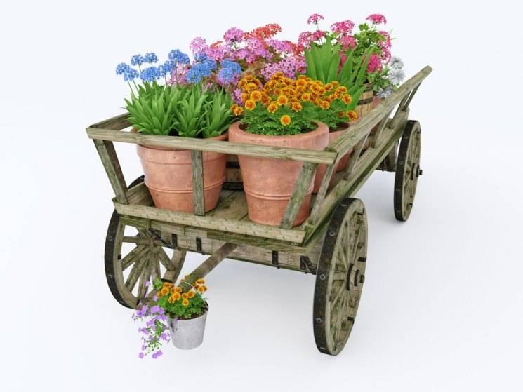 Садовая тачка своими руками: как сделать из подручных материалов, чертежи, фото