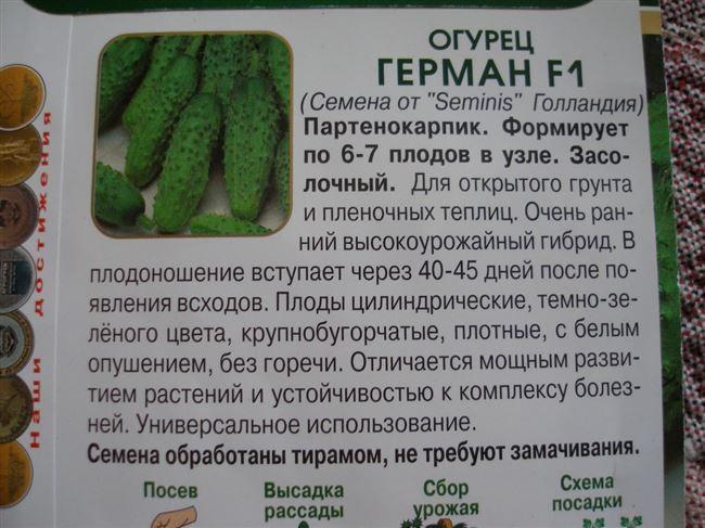 Сорта огурцов с фото и описанием