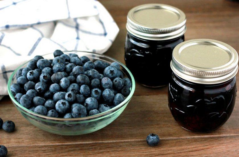 Ягодный джем из малины и голубики рецепт - рецепты