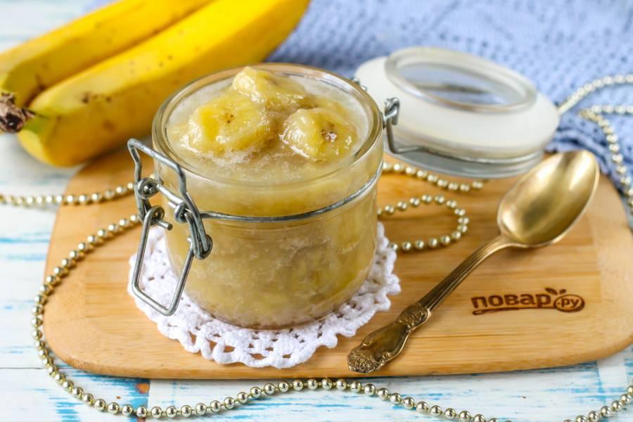 Варенье из бананов: рецепты, как приготовить