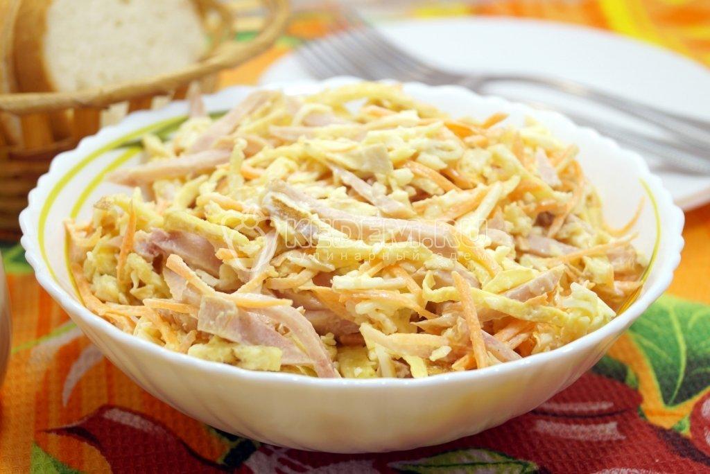 Салат с курицей и кукурузой - 93 рецепта приготовления пошагово - 1000.menu
