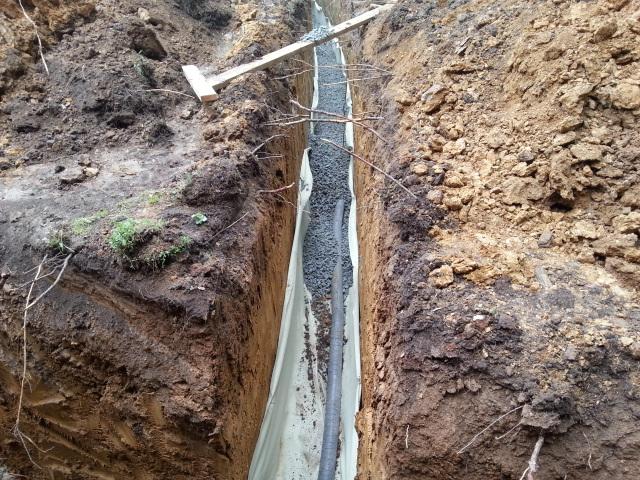 Высокий уровень грунтовых вод и устройство фундамента ниже угв