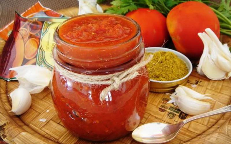 Аджика без помидор - 24 рецепта приготовления пошагово - 1000.menu