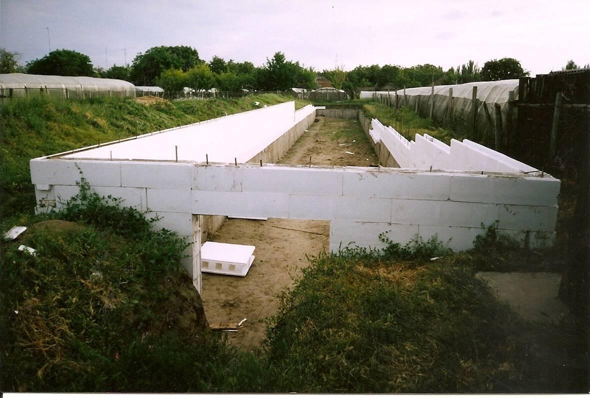 Подземная теплица-термос: технологии возведения конструкции