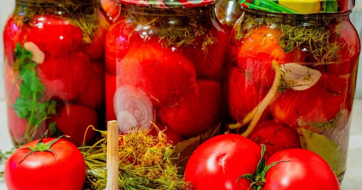 Рецепт маринования помидоров по-польски на зиму - всё про сады