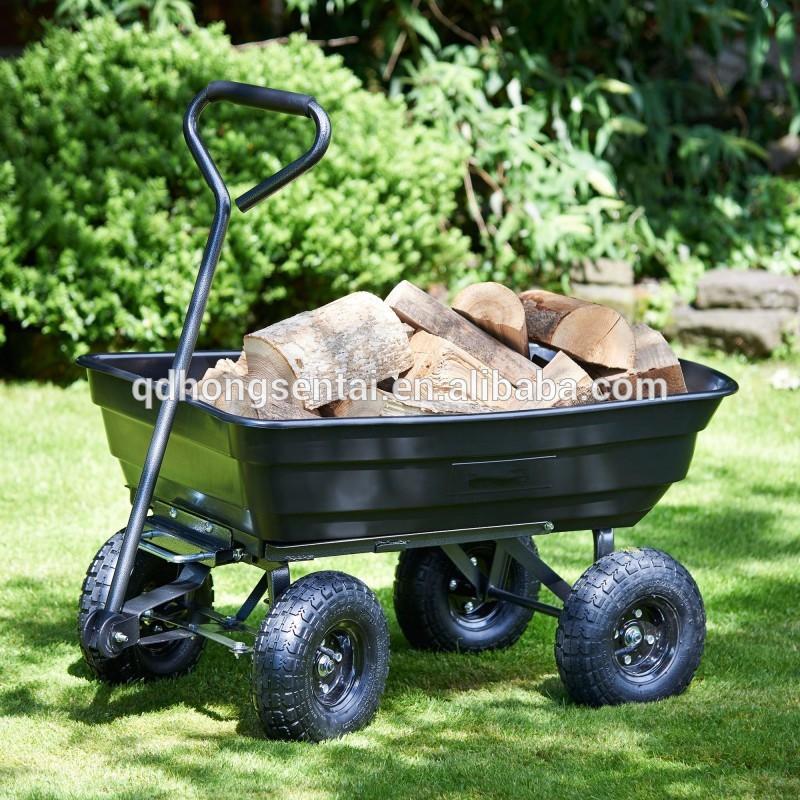 Как выбрать садовую тачку для огорода