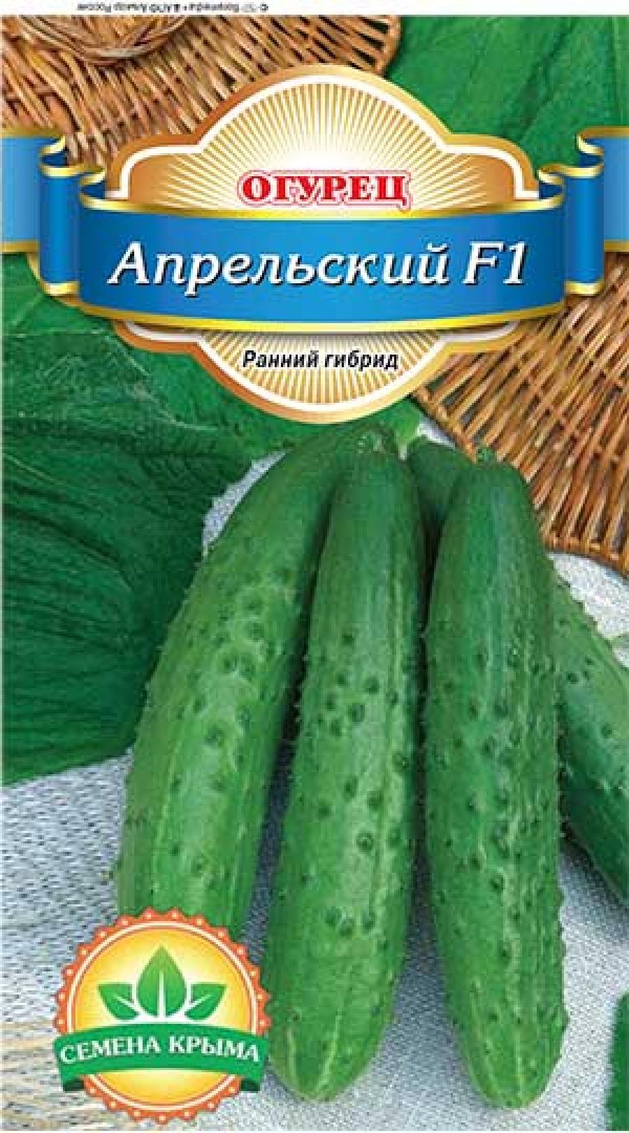 Сорт огурцов апрельский f1: характеристика, описание с фото, отзывы