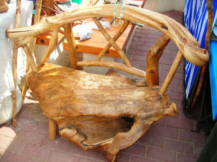 Мебель из корней: сказочная красота