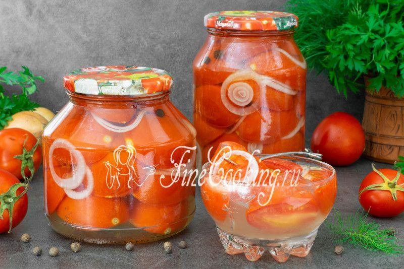 Помидоры в желатине на зиму: рецепты пальчики оближешь. самый вкусный простой рецепт помидоров без стерилизации