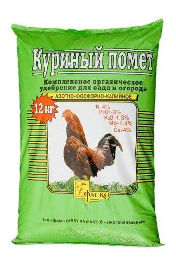 Куриный помет как удобрение - как применять весной для подкормки?