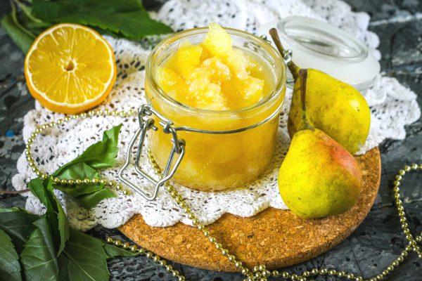 Вкусное варенье из груши с лимоном: рецепт на зиму